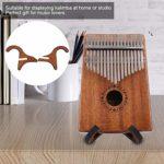 Support vertical pratique léger et durable pliable et portable Support de Kalimba, apparence exquise Support de Kalimba portable, pour violon domestique