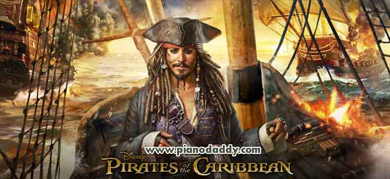 Pirates of the Caribbean Theme Piano Notes | Piano Daddy