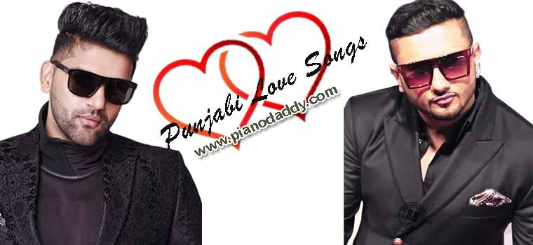 Top 30 Punjabi Love Songs Piano Notes
