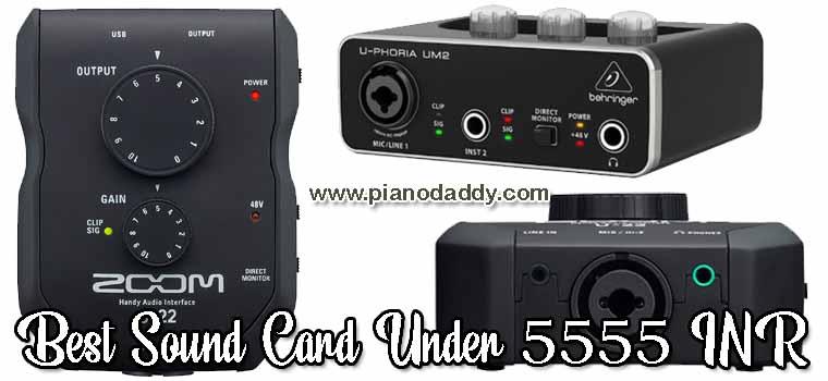Audio Interface Under 5555