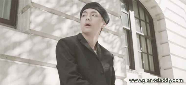 Winter Bear Piano Notes V (BTS) – Piano Daddy