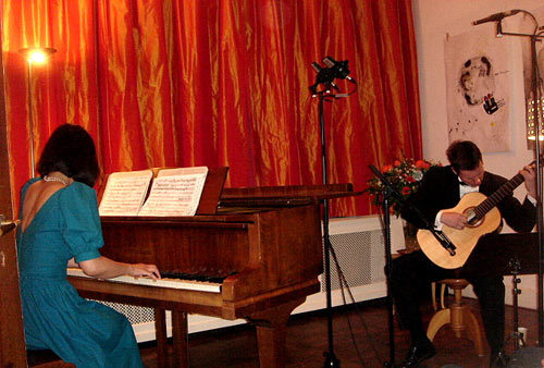 Bekkers Piano Guitar Duo in concert, 17 April 2010