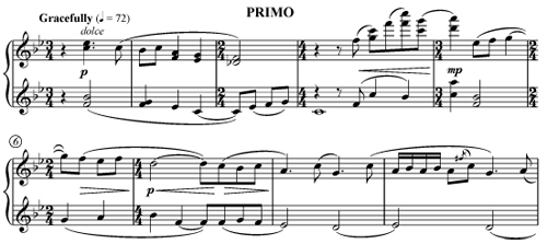 Conversations in the Garden piano duet by John Bilotta - PRIMO