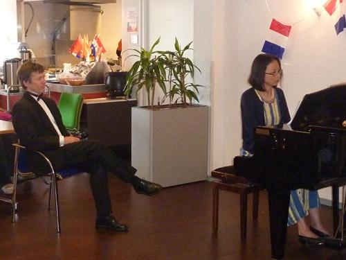 Robert Bekkers and Anne Ku in Zoetemeer, 19 June 2010