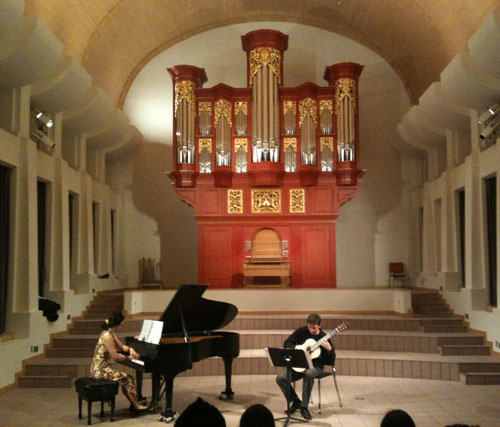 Organ Hall at Arizona State University