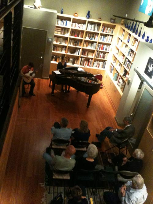 Loft apartment concert in Phoenix, Arizona