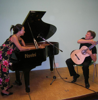 Bekkers Piano Guitar Duo in Italy, 2007
