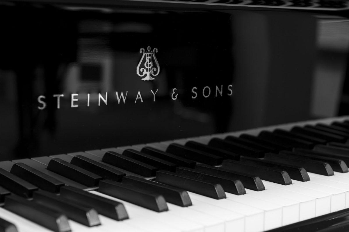 Steinway keys