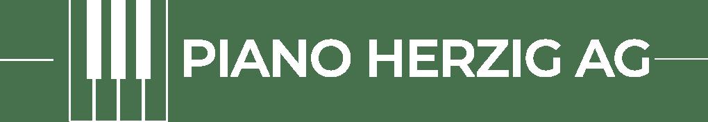 Piano Herzig Logo weiss