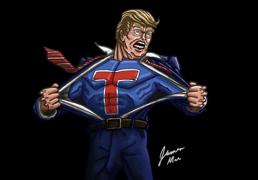 SuperTrump, più veloce della luce