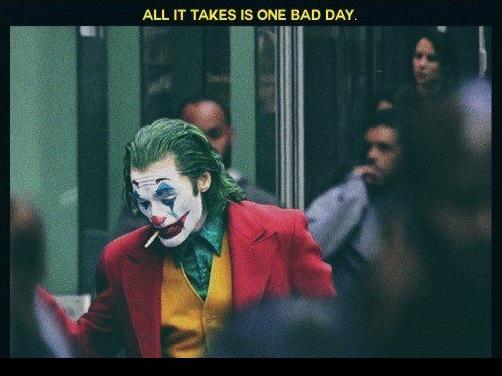 Joker - basta una brutta giornata