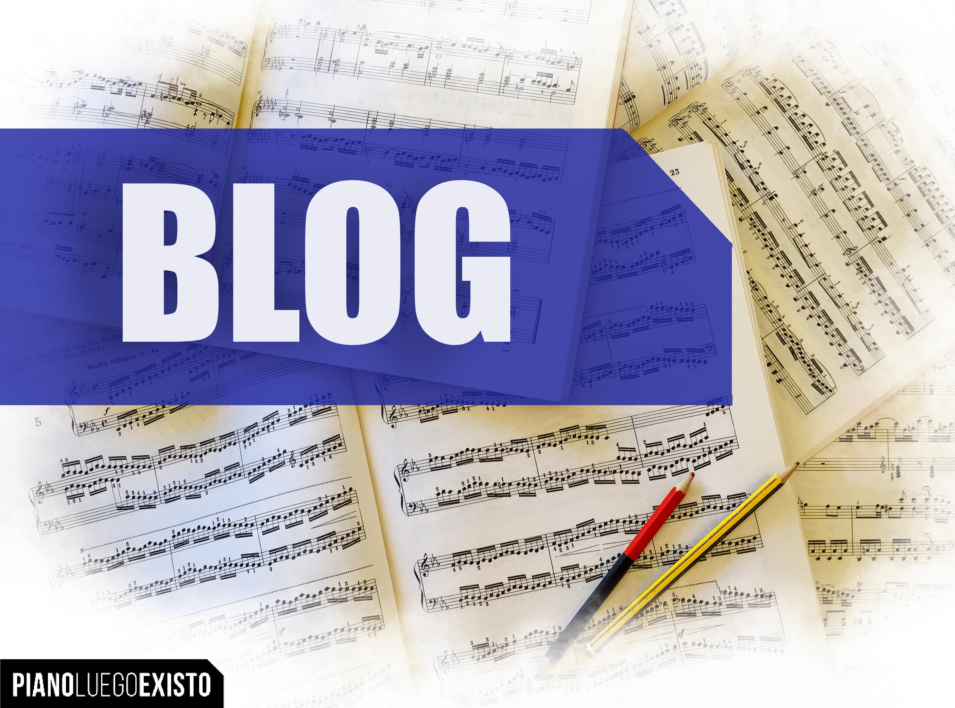 Blog sobre piano