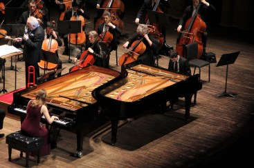 Piano Duo and Vancouver Symphony Orchestra Deborah Grimmett, Iman Habibi, and Bramwell Tovey, Saint-Saëns' Carnival of the Animals