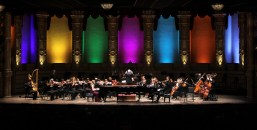 Orpheum Theatre Vancouver Piano Duo and Orchestra