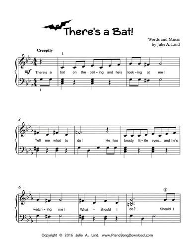 free printable sheet music for piano # 9
