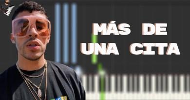 MÁS DE UNA CITA - Bad Bunny x Zion y Lennox