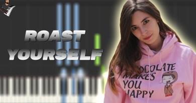 ROAST YOURSELF CHALLENGE - Lyna Vlogs