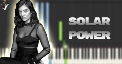 Lorde - Solar Power