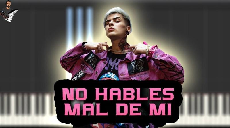 LIT killah - No Hables Mal De Mí