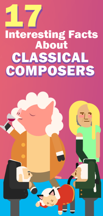 17 Interesting Facts About Classical Composers - PianoTV net