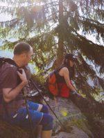 Echipa PiArt Vision ]n drum spre Vf. Moldoveanu. Foto: Adrian Dan