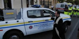 nuovo automezzo per la protezione civile