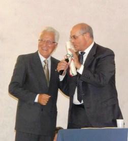 il senatore Giorgio De Giuseppe col sindaco
