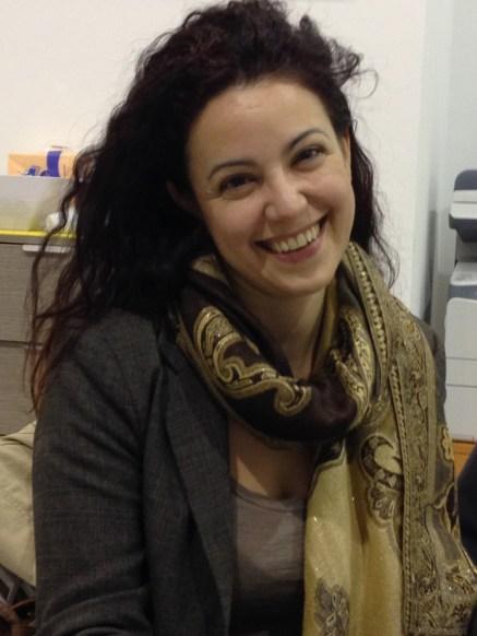 Ilaria Lia, nostra corrispondente da Presicce