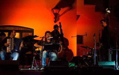 Mino De Santis con il Locomotive jazz 4tet