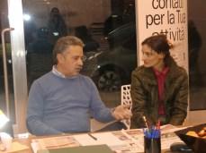 Il direttore con Elisabetta De Martino