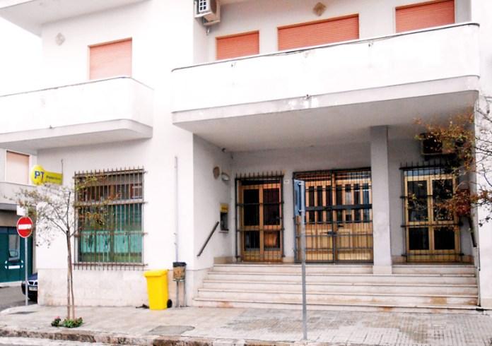 ufficio postale alezio