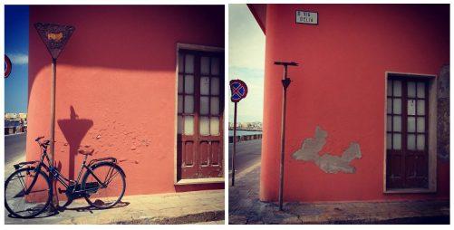 via D'Elia, prima e dopo il tornado... FOTO di Emiliano Picciolo