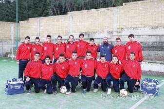 Gli allievi provinciali del Casarano Calcio (foto di Fernando Stefanelli)