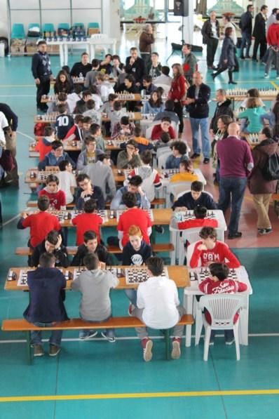 Fase regionale dei Campionati Giovanili Studenteschi di scacchi 2014