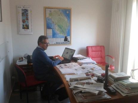 Il direttore Fernando D'Aprile