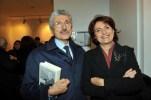 Massimo D'Alema e Linda Giuva