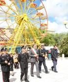 """L'inaugurazione della festa di sabato 17 maggio nei """"Giardini Ingrosso"""" con la novità delle giostre- foto Pejrò"""