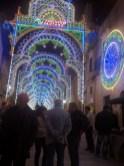Luminarie in piazza Garibaldi