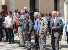 L'arrivo della delegazione di Niederbipp