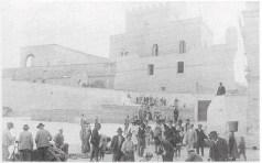 La piazza agli inizi del '900