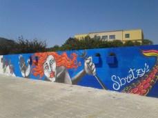 Street art murales - lungomare Galilei