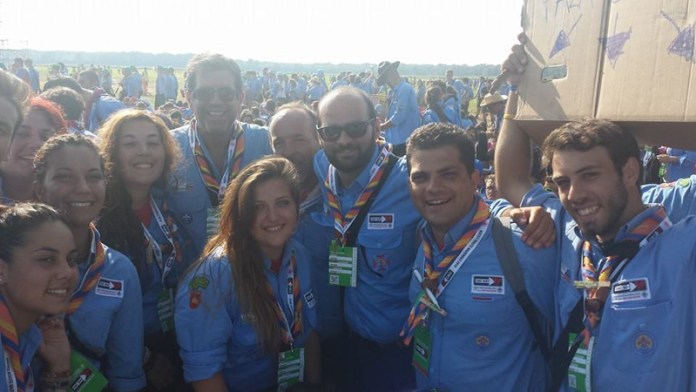 scout a San Rossore con don pierluigi