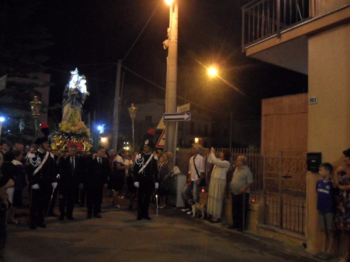 Madonna delle Grazie - processione