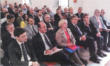 Sindaci e amministratori alla presentazione del Piano di riordino ospedaliero da parte dell'assessore regionale alla Sanità Donato Pentassuglia