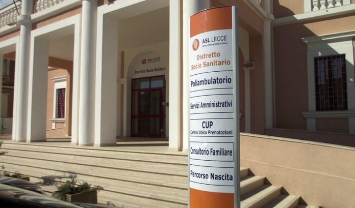 Il nuovo ingresso del Distretto sanitario