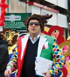 Flavio Filoni, presidente del comitato Carnevale Galatonese - foto vanessa chirivi' galatone
