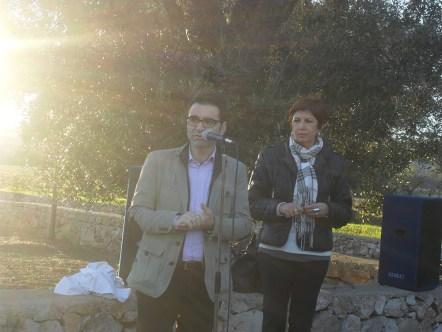 Marzio Molle, assessore alla cultura e Marilena De Stasio, presidente di Ionia