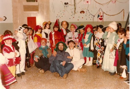 Una festa del 1981 nella parrochia di S. Maria delle Grazie a Sannicola