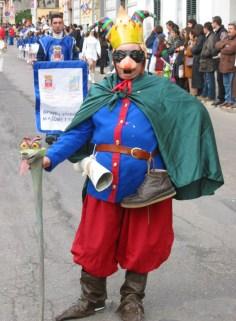 """""""Casaranazzu"""", la maschera ufficiale di Casarano. Ideata nel 1999 dagli studenti della terza E della Media di piazza San Domenico, rappresenta i vizi e le virtù dei suoi concittadini"""