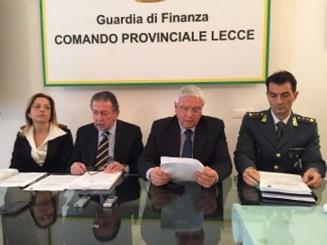 Al centro Cataldo Motta della Dda Lecce e il Procuratore nazionale antimafia aggiunto, Francesco Mandoi